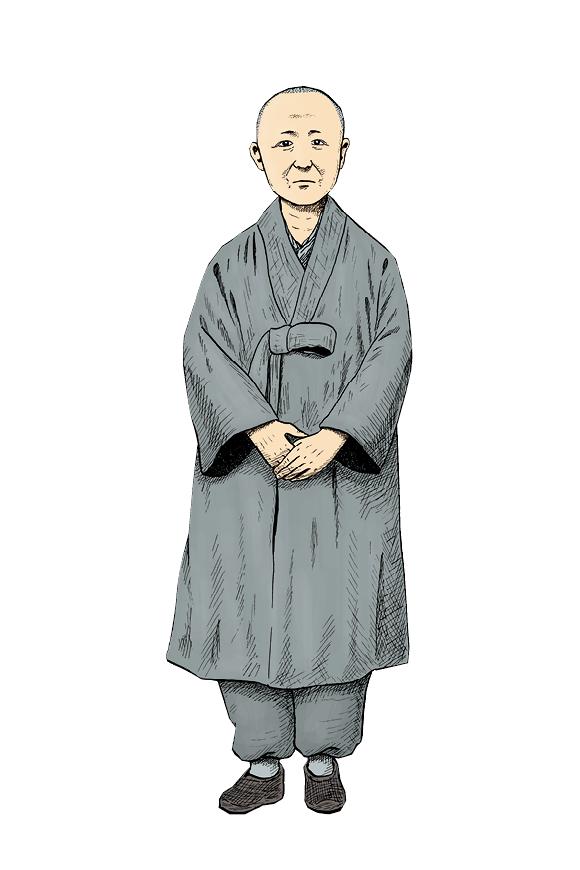 사리암의 50대 비구니 스님 [6월 항쟁]