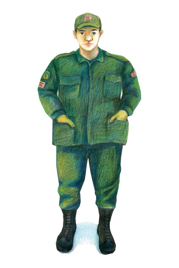 휴가 나온 20대 군인 [6월 항쟁]